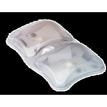 Сдвоенный светильник L-one 5х2